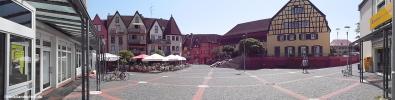 Hattersheim am Main2014 Marktplatz