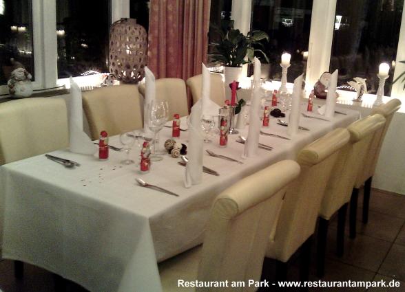 Restaurant am Park - Weihnachtsfeier2